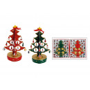 Wooden music tree, assorted, B29 cm