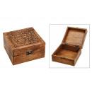 wholesale Garden & DIY store: Jewelery Box India Wooden Brown (B / H / D) 17x10x