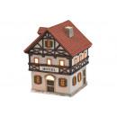 Windlichhaus Hotelporzellan W10 x H13 x T9 c