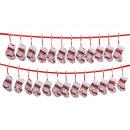 Calze, calzini di tessuti, 220 cm