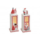 vento leggero lanterna Weihnachtsmotiv ceramica, 2