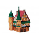 groothandel Home & Living: Hotel porselein, B12 x T11 x H16 cm