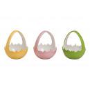 guscio d'uovo con una maniglia in ceramica, 3-