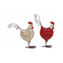 punti di pollo in metallo, assortito , B14 x H16 c