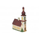Chiesa in Baviera porcellana, B21 x H29 cm x T8
