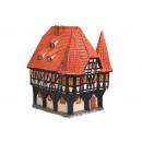 Rathaus Michelstadt/Odenwald aus Porzellan, B12 x