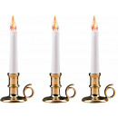 wholesale Home & Living: Christmas flakernde Candle LED, 20cm tall