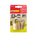 Padlock Solid 30mm with 6 keys
