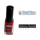 Nail polish color  SRC 512 Maroon, Content 9 ml