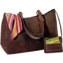 Shopping Handtasche, braun, 40 x 27 x 11 cm