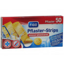 Plaster strips 50 pieces in 4 sizes, standard