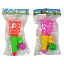 Fangball-Spiel mit Ball, 2 Farben sortiert