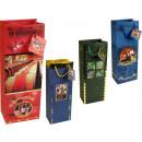 wholesale Food & Beverage: Gift bag bottle size (124x76x362 mm), wine