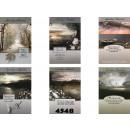 Großhandel Glückwunschkarten: Trauerkarte mit Landschaftsmotiven und