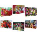 Großhandel Geschenkartikel & Papeterie: Geschenkbeutel gro§ quer (380 x 260 x 100 mm)