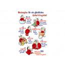 grossiste Cartes de vœux: Carte de  félicitations pour bébé