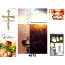 grossiste Cartes de vœux: Communion carte  avec photo  collages avec du ...
