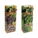 groothandel Food producten: Gift bag formaat  fles (124x77x360 mm), wijn