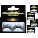 Artificial eyelashes in a set box, many sort.