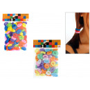 wholesale Hair Accessories: Hair bands in the  100-pack, colored mixture