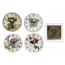 wholesale Clocks & Alarm Clocks: Wall Clock 'Still life, 4x Sun, 29 cm, ...