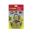 wholesale Ironmongery: Padlock 40mm Pack of 3 EQUAL TO CLOSE