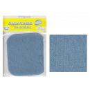 mayorista Merceria y costura: Correa Jean de luz de color azul parche 9.5 x 10.5