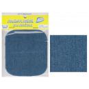 mayorista Merceria y costura: Correa Jean de color azul medio parche 9.5 x 10.5