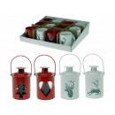 groothandel Windlichten & lantaarns: Lantaarn kleine,  metalen, ronde 4 verschillende. T