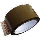 mayorista Materiao de transporte y accesorios: cinta paquete  marrón, 50 mm de ancho, 66 m rollo