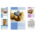 Großhandel Glückwunschkarten: Glückwunsch-Karte zum Baby, 8fach sortiert