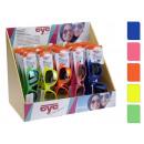 Sonnenbrille, Kunststoff 5 Farben