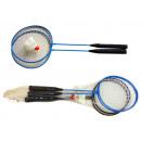 Badminton Set, 2  Schläger und ein Ball