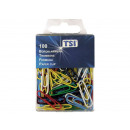 groothandel Stationery & Gifts: Gekleurde paperclips 26mm,