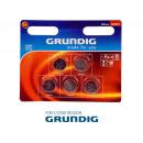 Batteries, button cells, Grundig CR2032 5-pack