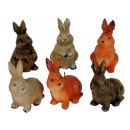 Easter candle Hase, 3 designs