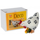 Easter chicken, in a gift box,