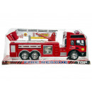 Fire truck with ladder in gift box