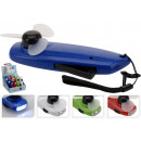 wholesale Air Conditioning Units & Ventilators: Mini Fan with  Flashlight, 4 color sorting