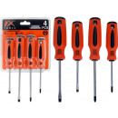 Screwdriver set, 4 assorted times