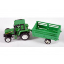 Farmer tractor with trailer 4x sorted PVC Dos