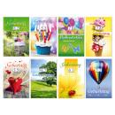 grossiste Cartes de vœux: Carte  d'anniversaire avec des vitesses