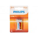 wholesale Batteries & Accumulators: 9v battery Philips Longlife