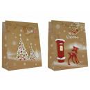 Geschenkbeutel gro§ Weihnachten, Handmade