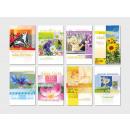 Großhandel Glückwunschkarten: Geburtstags-Karte mit bunten Motiven