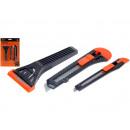 wholesale Houshold & Kitchen: Universal Knife  Set, 2 knives, a scraper