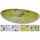 large plate with cute Easter designs