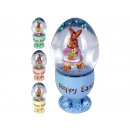 wholesale Houshold & Kitchen: Snowglobe Easter bunny in an egg cup