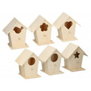Birdhouse wood, for hanging