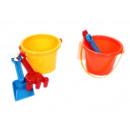 Großhandel Outdoor-Spielzeug: Sandspielzeug 3er Set, Kunststoff